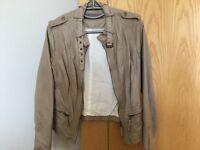 Ladies Biker Style Jacket (Zara)