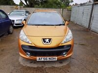 Peugeot 207 1.6 hdi 90hp lower roll tax only £30 and very cheap insuran