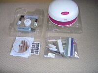 UV Nail extensions with DVD