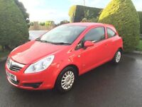 VAUXHALL CORSA 1.0 PETROL, 2009, LOW INSURANCE GROUP **FINANCE THIS CAR FROM £16.80 PER WEEK**