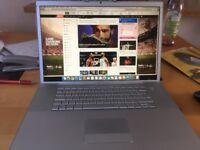 17 inch Macbook Pro 6 gig memory 2007