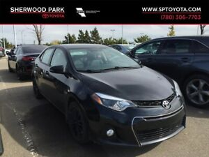2015 Toyota Corolla S Manual