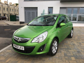 2013 VAUXHALL CORSA s-d 1.2 PETROL ACTIVE, F/V/S/H, LOW MILEAGE, 2 OWMERS, CLEAN