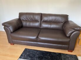 BARGAIN Leather sofa as new