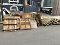 Free pallets wood Central London