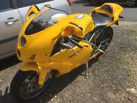 DUCATI 749 BIP in Yellow 2006