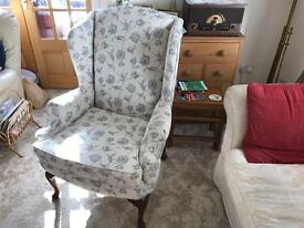 Absolutely Stunning 'Brights Of Nettlebed' Georgian Style Wingback Armchair