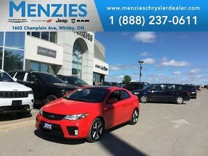 2012 Kia FORTE KOUP 2.4L SX, Bluetooth, Sunroof, Clean Carproof