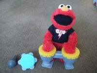 ** REDUCED IN PRICE ** ELMO 'Let's Rock', Singing and Dancing Sesame Street Kids Toy