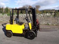 Hyster h2.50xm Forklift and rotator. Diesel/ 2.5 ton