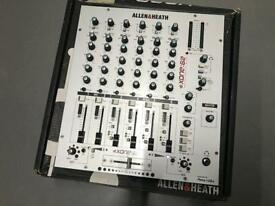 Allen & Heath Xone 62 Professional DJ Mixer + Original Box + Rackmount Kit