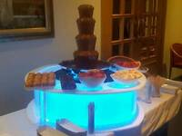 Chocolate Fountain and Candy Floss Hire