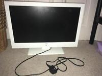 22'' white bush tv