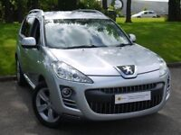 £0 DEPOSIT FINANCE*** Peugeot 4007 2.2 HDi GT 5dr MASSIVE SPEC* SAT NAV, LEATHER, **7 SEATER**