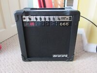 Zoom Fire-15 Guitar Amp