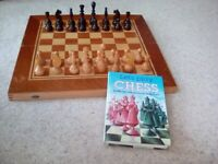 Chess Set and instruction book for beginners.