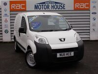 Peugeot Bipper 1.4 HDI S (NO VAT) FREE MOT'S AS LONG AS YOU OWN THE CAR!!! (white) 2011
