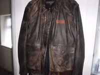 """Triumph """"Steve McQueen"""" leather jacket Immaculate condition"""