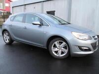 Vauxhall Astra 2.0 CDTi 16V ecoFLEX SRi 5dr (silver) 2013