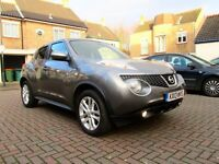 NISSAN JUKE 1.6 16V AUTOMATIC ACENTA SPORT 5 DOOR FSH HPI CLEAR 2 KEYS EXCELLENT CONDITION