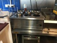 Parry 6 pot wet Bain Marie , very good quality