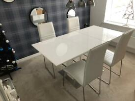 Dining Table Set (Furniture Village)