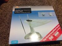 UNUSED-Indoor HIGH PERFORMANCE TV antenna and RADIO receiver COLLECTION ONLY