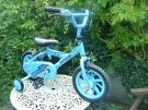 Bike with stabilizers (2-5 years)
