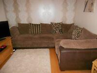 Fabulous comfy corner sofa - excellent condition