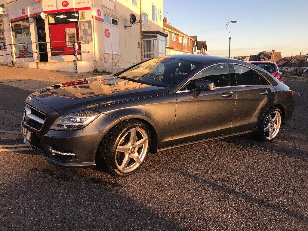 Mercedes-Benz CLS 2.1 CLS250 BlueEFFICIENCY AMG Sport 7G-Tronic Plus 4dr start/stop Auto Immaculate