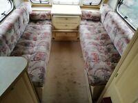 Caravan seating cushions