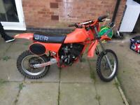1982 Honda cr80 air cooled (swaps px Vespa lambretta project), used for sale  Anstey, Leicestershire
