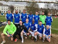 Sunday morning men's 11 aside League football (South/Central London)