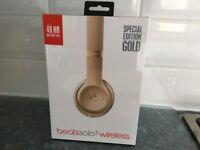 Beats solo3 wireless headphones (brand new, unopened)