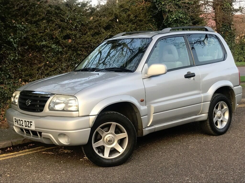 2002 suzuki grand vitara se 3 doors 1 6 engine brand new mot