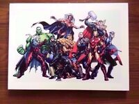 Marvel Comics Superheroes Canvas 46x33cm