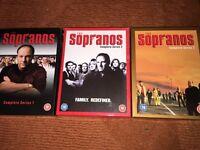 The Soprano, all episodes, series 1-6.