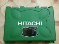 New Hitachi power drill