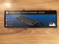 HP WIRELESS CLASSSIC KEYBOARD AND MOUSE (HP LV290AA#ABB)