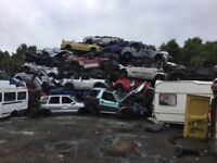 Wanted scrap cars vans and 4x4s