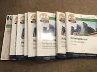 Schweser CFA Level 1 - Complete Set (8 books and quick sheet) - V. Good Condition - £200