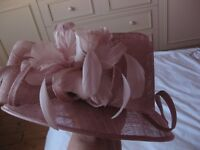 Stunning Pink Hat with flower detail