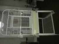 Large bird parrot cage