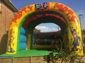 4 bouncy castles for sale
