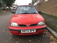Automatic Nissan micra shape for sale, MOT, low mileage, drives good.