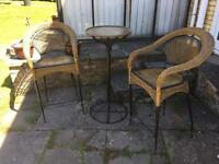 High Chairs and Table - Reduced to Clear