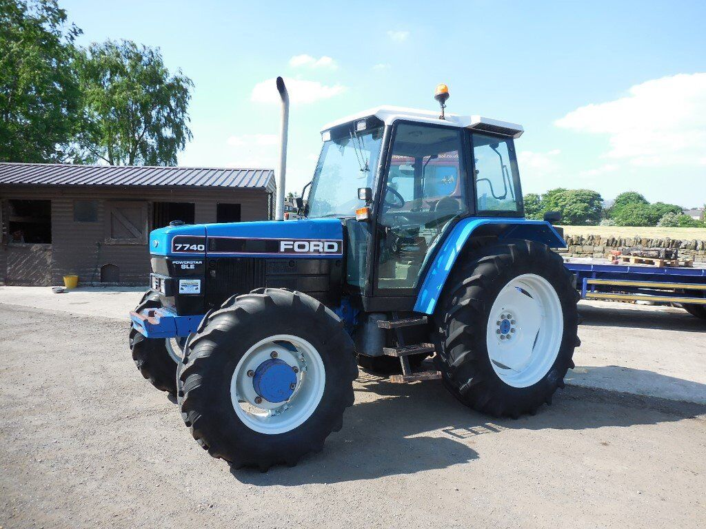 Ford 7740 Sle Tractor In Halifax West Yorkshire Gumtree