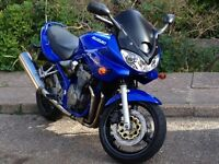 Suzuki gsf 600s bandit 2004 in excellent condition.