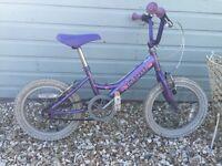 Childs Princess first bike