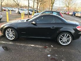 Lovely black slk with Crome detailing; well used and loved